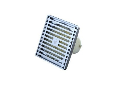 Stench-proof floor drain of shower stainless steel 50% drainage area without water accumulation and