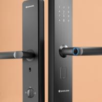 Cherry Blossom Smart Lock Household Security Door Electronic Lock Door Lock Top Ten Brand Door Passw