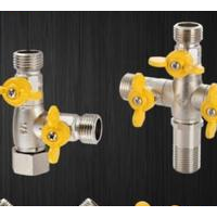 Solar bath water distributor connector one into five out of water heating four direct branch three o